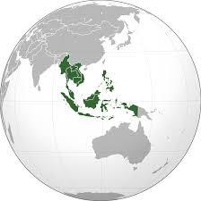 SEasia Globe Map